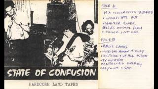 State of Confusion - Confusion or control (Hardcore Land Tapes Demo