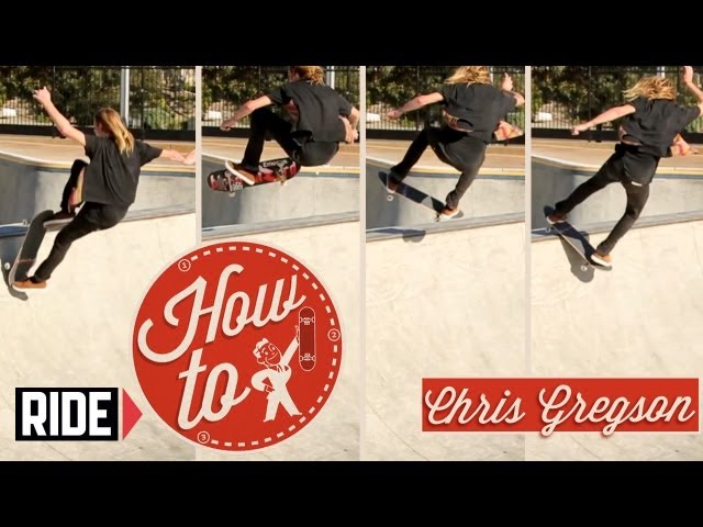 How-To Skateboarding: Kickflip Frontside Disaster with Chris Gregson