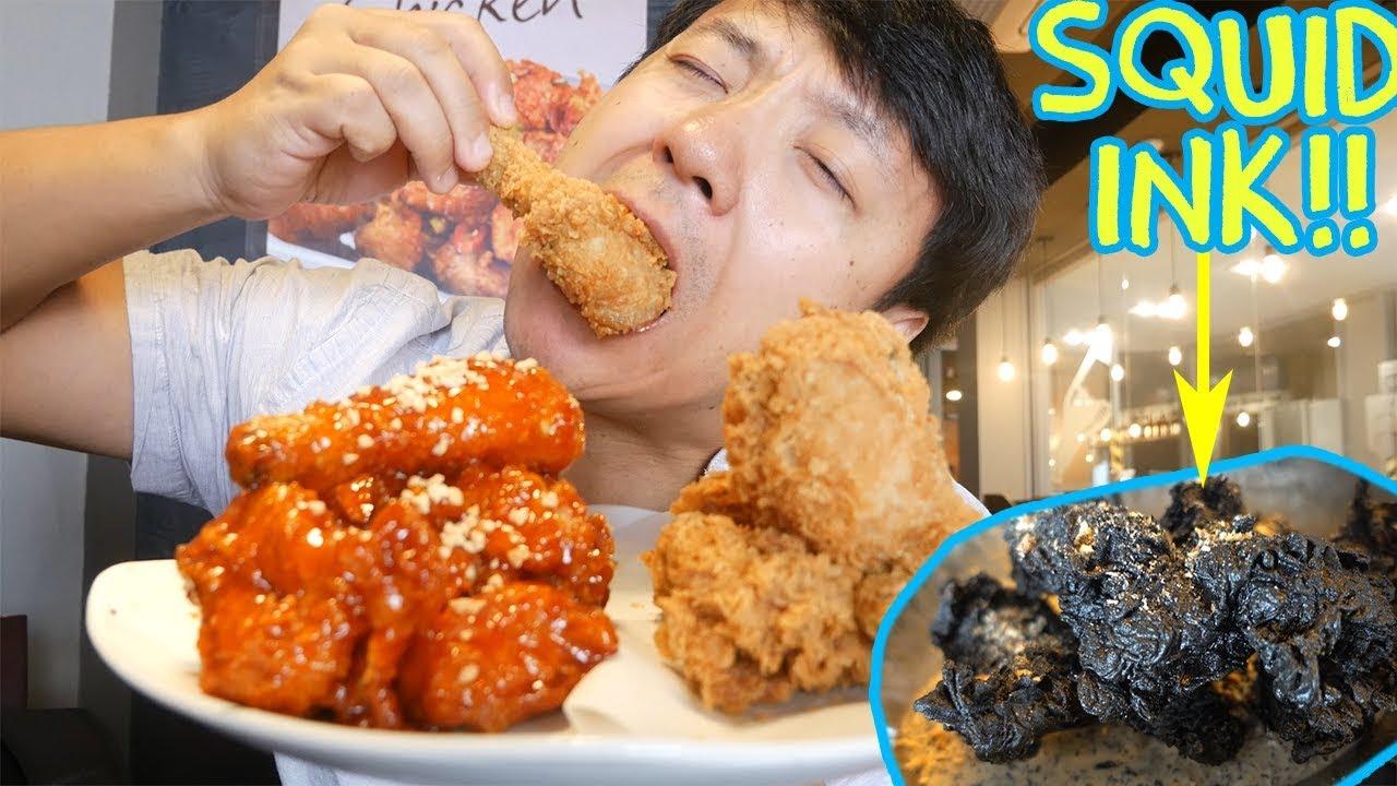 Download Korean FRIED CHICKEN (KFC) Tour of Seoul South Korea
