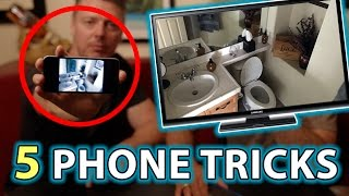 TOP 5 Phone Hacks & Magic Pranks!