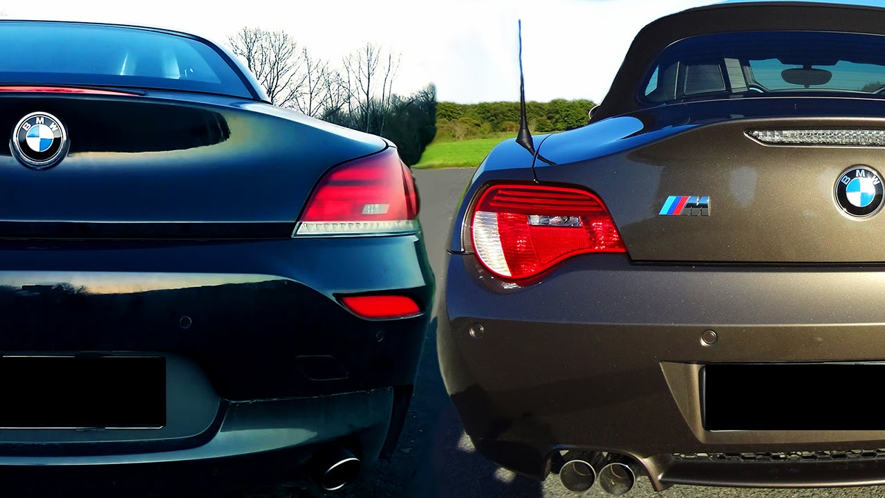 Bmw Z4 35i Vs Z4m Sound Battle Hear The Difference 3 2l E85 Vs 3 0l Turbo E89 Roadster Youtube