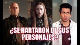 8 ACTORES Que Pidieron Que ASESlNAR4N A Sus Personajes Por Que Ya No Querían Seguir EN  UNA SERIE!