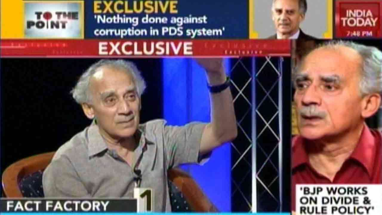 To The Point: Arun Shourie Says President Modi Is Running A One-Man Show