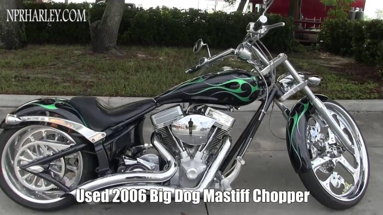 2006 Big Dog Mastiff Chopper Motorcycles For Sale Craigslist