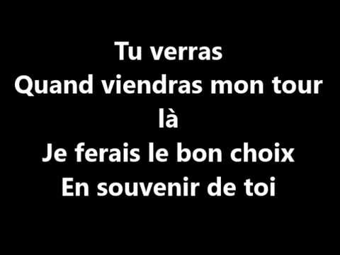 Slimane-le vide(paroles)