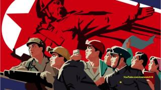 North Korean Song: Forward, Invincible Powerful Nation! - Instrumental
