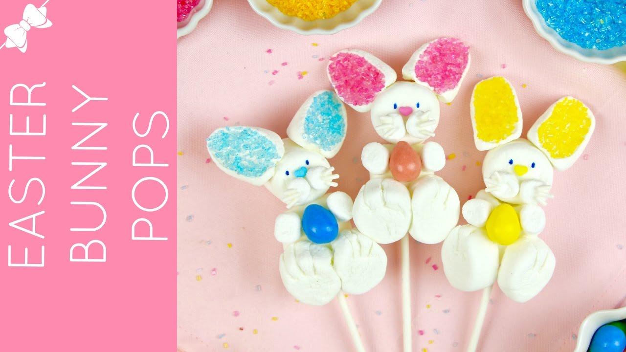 Marshmallow Easter Bunny Pops // Lindsay Ann Bakes
