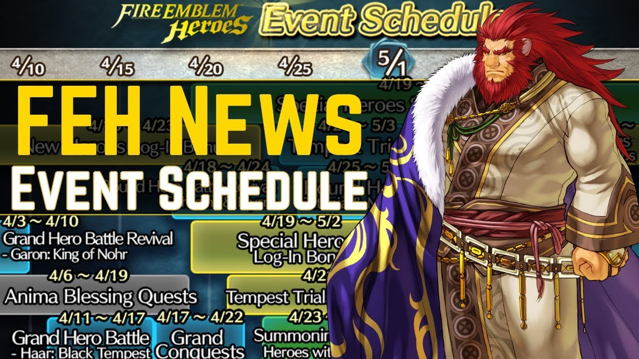 GOLDEN WEEK Incoming! Orbs? Early Brides? - FEH Event Schedule Out! | FEH  News 【Fire Emblem Heroes】