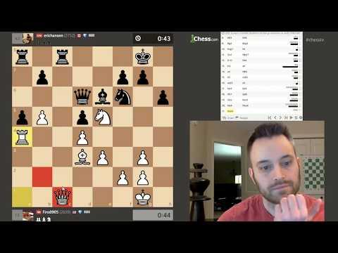 [Dual Commentary] 39-game Bullet Match vs. GM Eric Hansen (chessbrah)