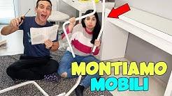 MONTIAMO I NUOVI MOBILI PER CASA!