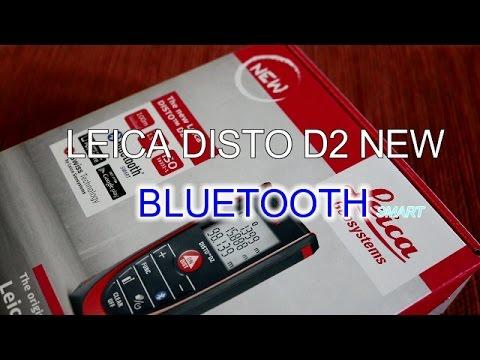 Leica Entfernungsmesser Disto D2 New Bluetooth Test : Leica disto d new bluetooth smart youtube