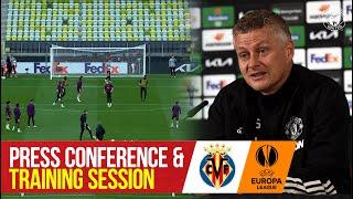 UEFA Europa League Final | FULL Training Session | Press Conference | Villarreal v Manchester United