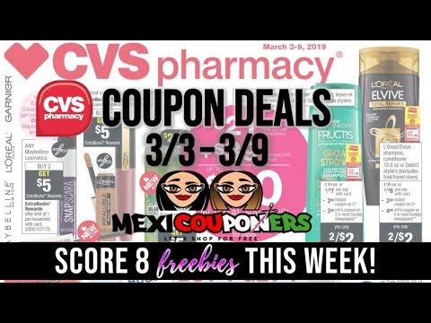 3cbc0c3a9bb CVS Coupon Deals 3/3 - 3/9 ~ FREE Maybelline Cosmetics, Colgate & MORE HOT  Deals! - Mexicouponers