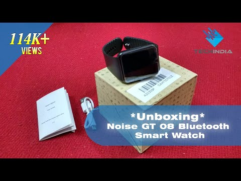 Noise GT 08 Bluetooth Smart Watch With Sim Card Slot And Camera
