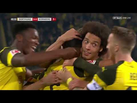 Borussia Dortmund vs Nuernberg 7-0 Full Match & Highlights 26 Sep 2018