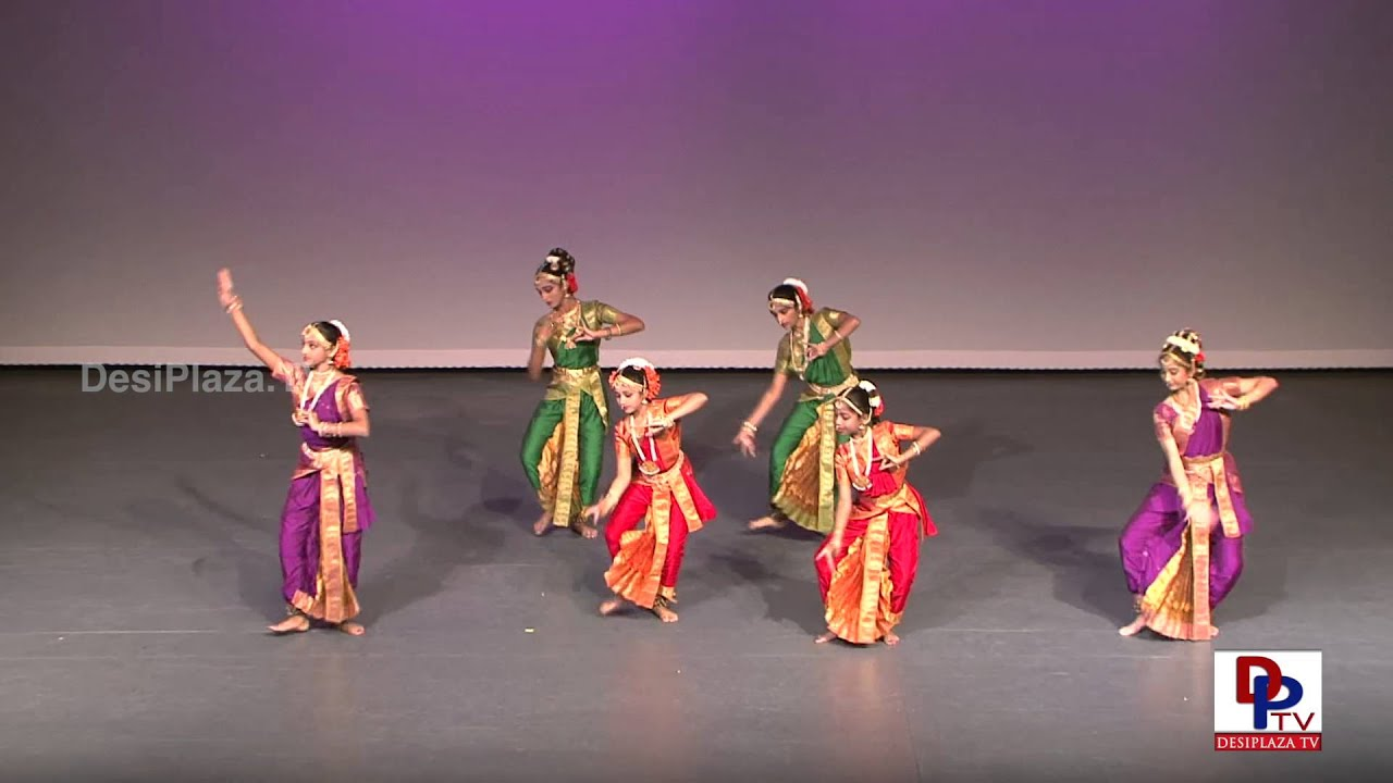 Students of Natyanjali of Kuchipudi Dance at Dance for Cure Event.