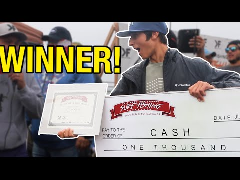 2019 MORE THAN FISHING SURF FISHING TOURNAMENT!! 16 Year Old Teenager Takes Home $1,000 CASH PRIZE