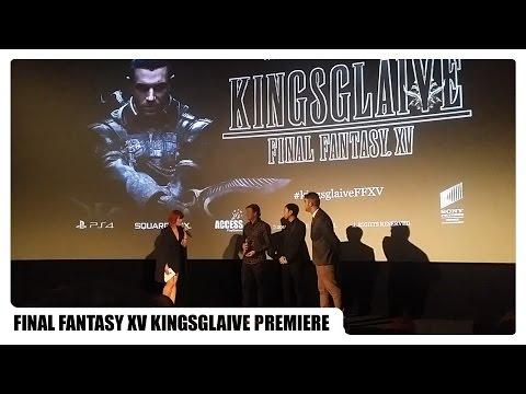 Final Fantasy XV Kingsglaive Premiere London 23/08/2016 (Takeshi Nozue, Sean Bean and Dan Inoue) Mp3