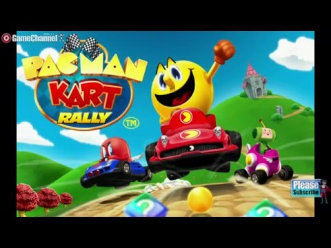 PAC MAN Kart Rally By Namco Racing Android İos Free Game GAMEPLAY VİDEO