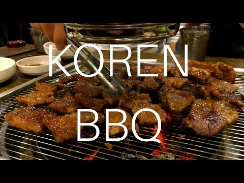 How to Korean BBQ with friends, in South Korea