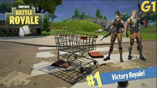G1 Fortnite ITA ''How to Win With a Cart!!''