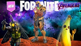 FORTNITE - BRINGING BALANCE TO THE UNIVERSE AS THANOS!!