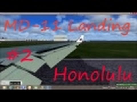 MD-11 | Honolulu Arrival | Real Sounds | [FSX]
