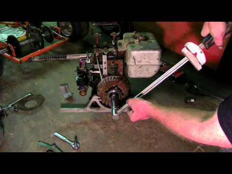 Briggs & Stratton Points, Coil, & Spark Plug Clean And Set To Spec And Startup!