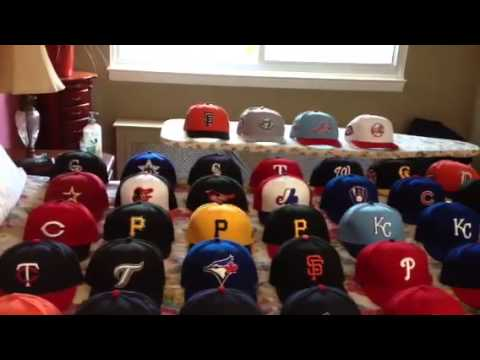 MLB Fitted Hat Collection - YouTube a7f0bb439f4