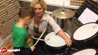 Music School- nauka gry na perkusji + wywiad!