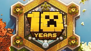 10 YEARS of Minecraft!!