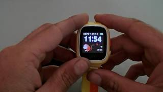Як налаштувати дитячі годинники Atrix Smart Watch iQ400 Touch GPS