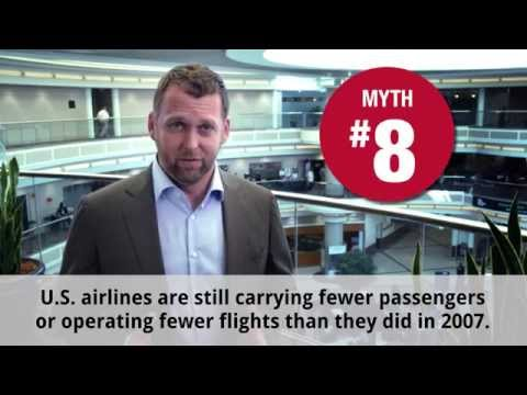 Airline Myth 8 – Fewer people are flying.