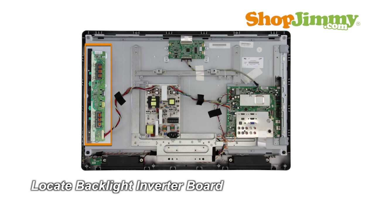 Samsung LJ97 02080C Backlight Inverter Boards Replacement