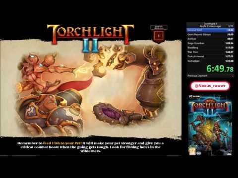 Torchlight II Pc Any% Embermage speedrun in 1h:28m