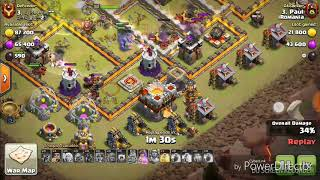 Clash Of Clans WAR: iRomania vs Chinese clan  11v11 