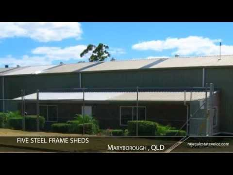 Freestanding Industrial Investment Property For Sale - Maryborough, QLD