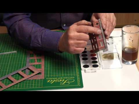 Metcalfe Models Tutorial – Finishing and painting edges