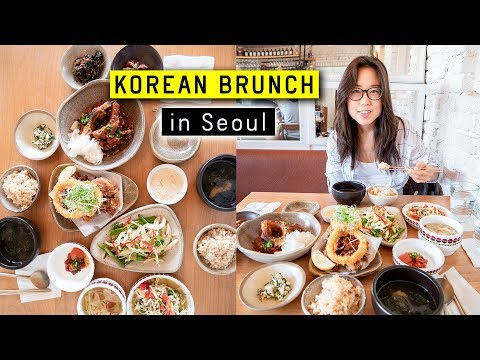 BRUNCH IN SOUTH KOREA 🥘 Homestyle Korean Cooking