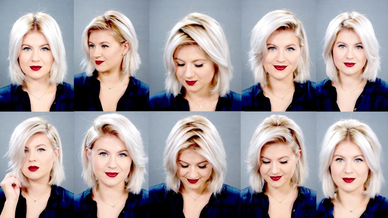 ways part hair