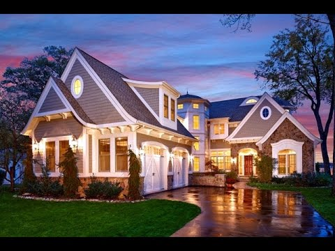 Cape cod cotage style of house designs ideas youtube for Pictures of cape cod style homes