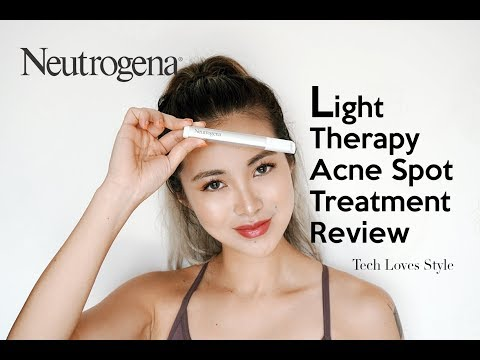 How To Remove Pimples Fast Neutrogena Light Therapy Acne Spot