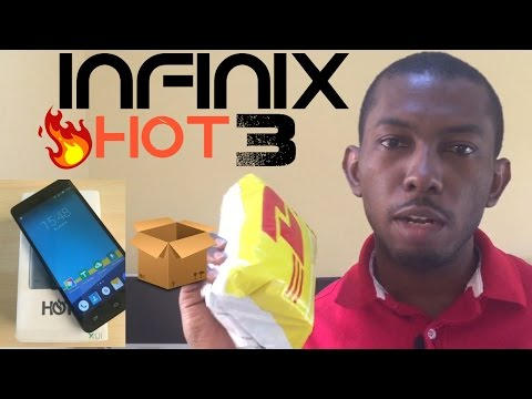 Unboxing Infinix Hot 3 Pro (2GB RAM) X554, Specification review and Price