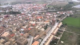 Villafranca Navarra desde el aire