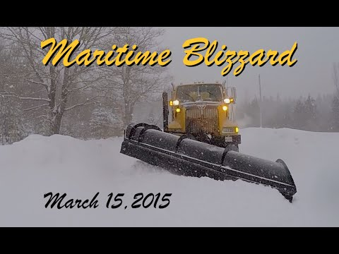 Maritime Blizzard~March 15, 2015