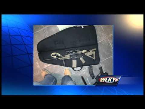 Search warrant leads to arrest after firearms stolen from Louisville area