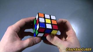 How To Solve A 3X3 Rubiks Cube For Beginners - White Cross
