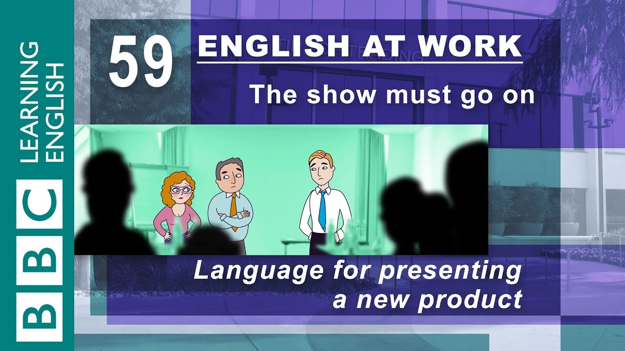 Presenting a new product - 59 - English at Work launches your business