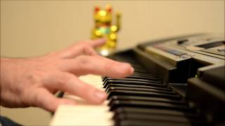 Incredible Hulk End Theme - The Lonely Man - Keyboard Cover - Hi Def