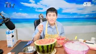 #29 은광아 맛있는 거 먹자광? HIGHLIGHT -5 화채 다 만들고 스쿱 준다